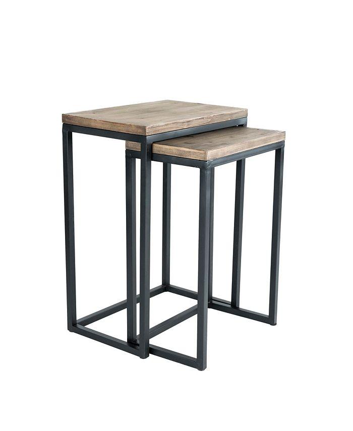 Click Décor - Parker Nesting Table Set