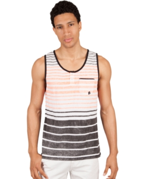 Marc Ecko Cut  Sew Shirt Striped Tank Top