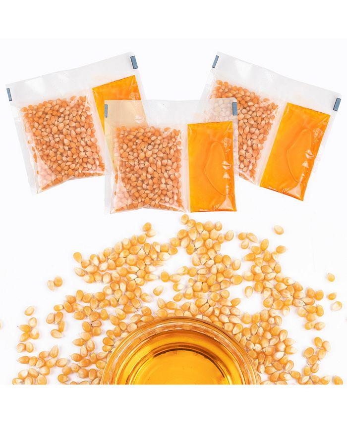 Nostalgia - KPP824 Premium Popcorn, Oil & Seasoning Kit, 8-oz. Packets, 24-Count