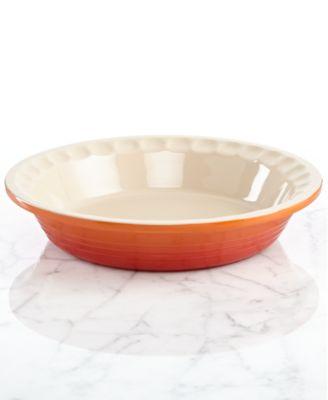 "Le Creuset Heritage 9"" Stoneware Pie Dish"