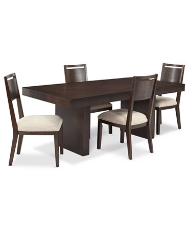 Garwood Dining Room Furniture 5 Piece Set Table And 4 Side Chairs Furnit