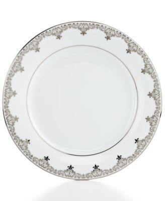 Charter Club Dinnerware, Grand Buffet Platinum Accent Plate