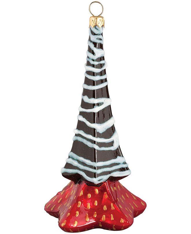 Joy to the World Glitterazzi Chocolate Covered Strawberry Gnome Tree