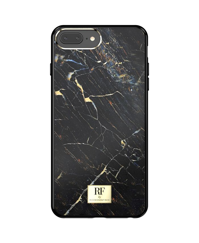 Richmond&Finch - Black Marble Case for iPhone 6/6s, iPhone 7, iPhone 8 PLUS