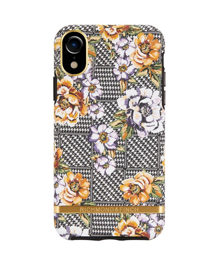 Richmond&Finch - Floral Tweed Case for iPhone XR