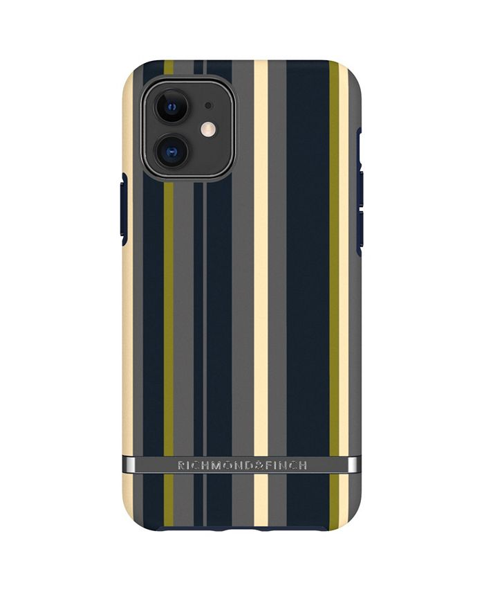 Richmond&Finch - Navy Stripes Case for iPhone 11