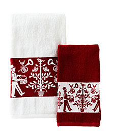 Vern Yip by SKL Home Christmas Carol Bath Towel