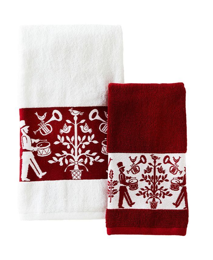 SKL Home - Christmas Carol Bath Towel