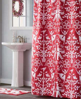 Christmas Carol Bath Towel