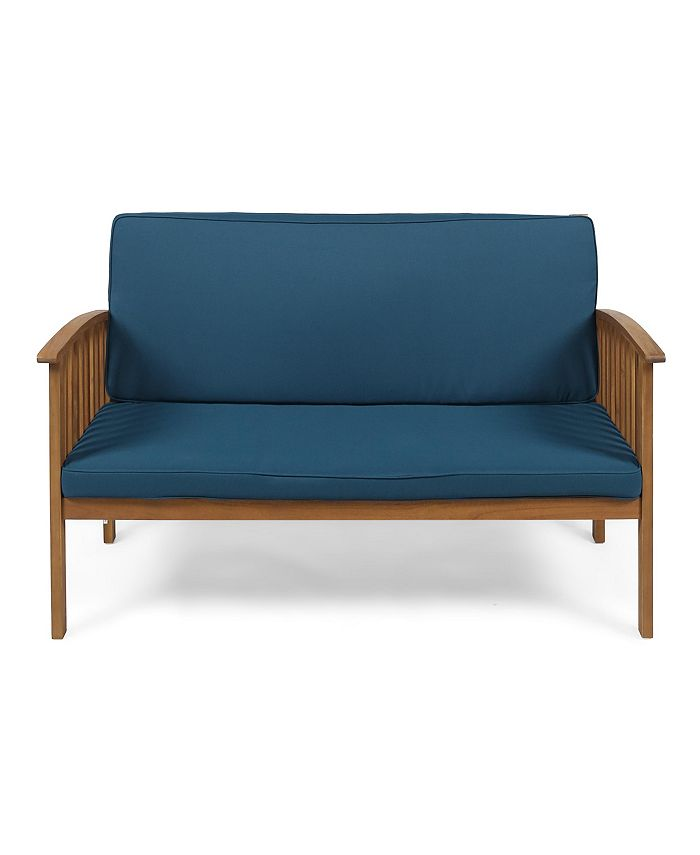 Noble House - Carolina Outdoor Loveseat
