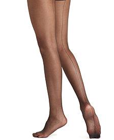 HUE® Women's  Ultra Sheer Back Seam Tights Hosiery