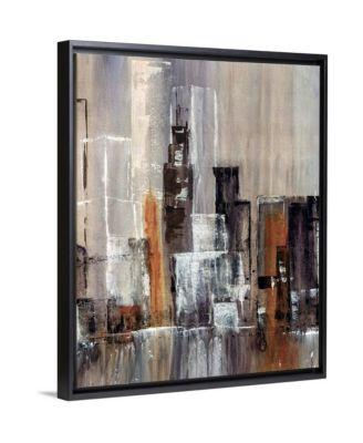"16 in. x 20 in. ""Coastal City II"" by  Kari Taylor Canvas Wall Art"