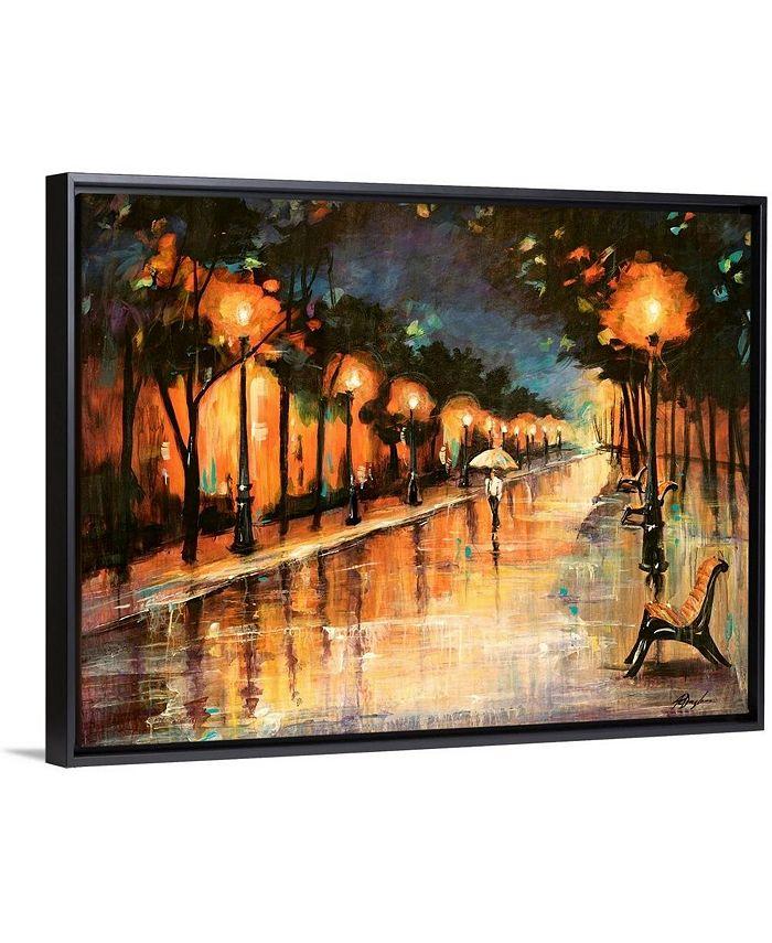 "GreatBigCanvas - 40 in. x 30 in. ""Halos In The Rain"" by  Farrell Douglass Canvas Wall Art"