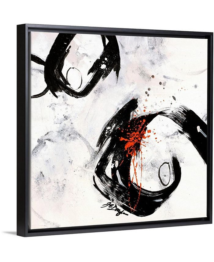 """GreatBigCanvas - 16 in. x 16 in. """"Mantra I"""" by  Farrell Douglass Canvas Wall Art"""