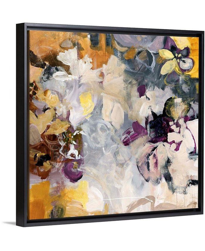 """GreatBigCanvas - 16 in. x 16 in. """"Orchid Pattern"""" by  Jodi Maas Canvas Wall Art"""