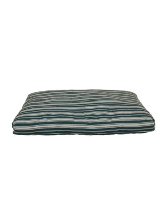 Striped Faux Gusset Jamison Indoor/Outdoor Dog Bed