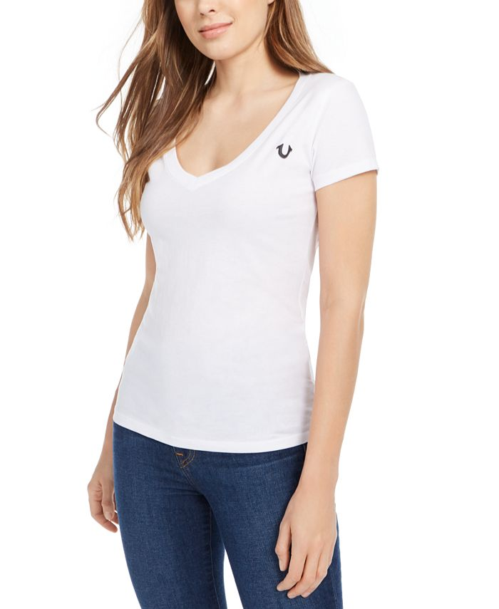 True Religion - Cotton Logo Graphic T-Shirt