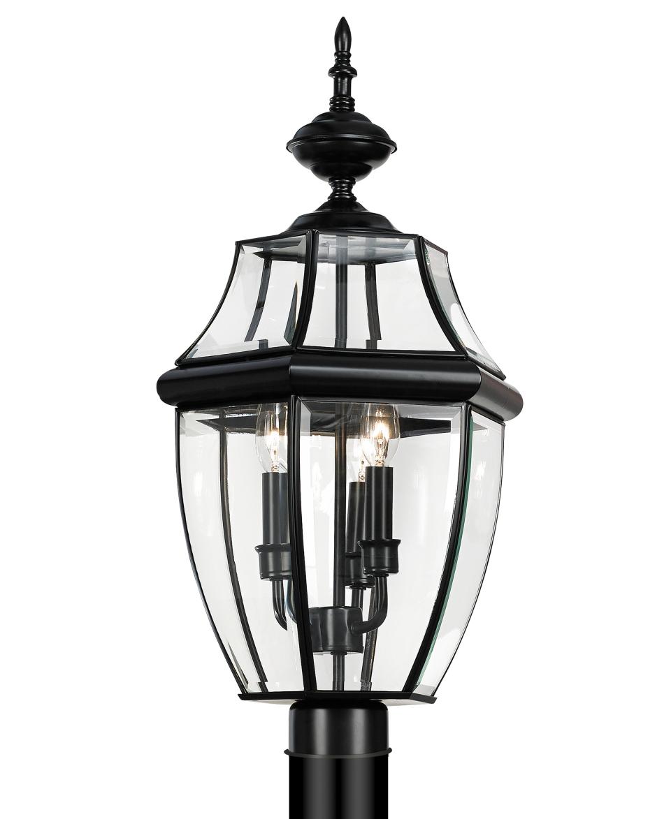 Sea Gull Outdoor Lighting, Lancaster Post Lantern   Lighting & Lamps   For The Home