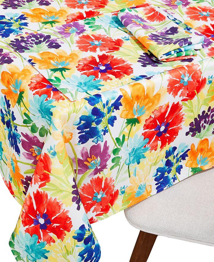 fiesta splash table linen collection