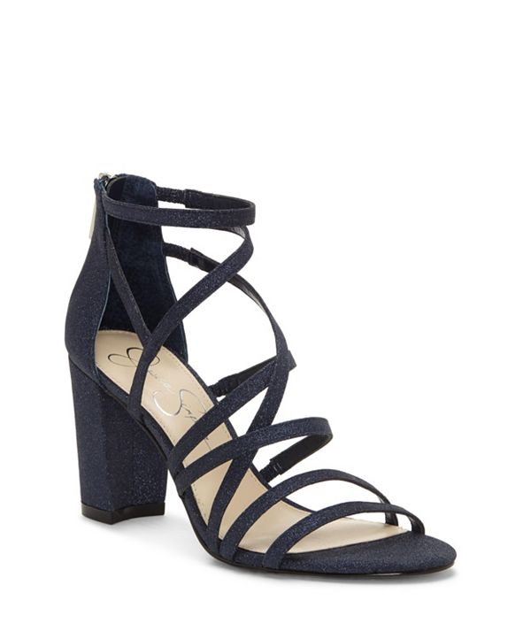 Jessica Simpson Stassey Block Heel Dress Sandals