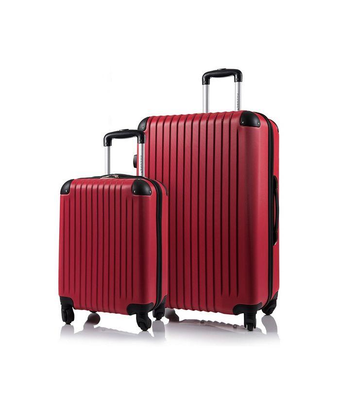CHAMPS - 2-Pc. Tourist Hardside Luggage Set