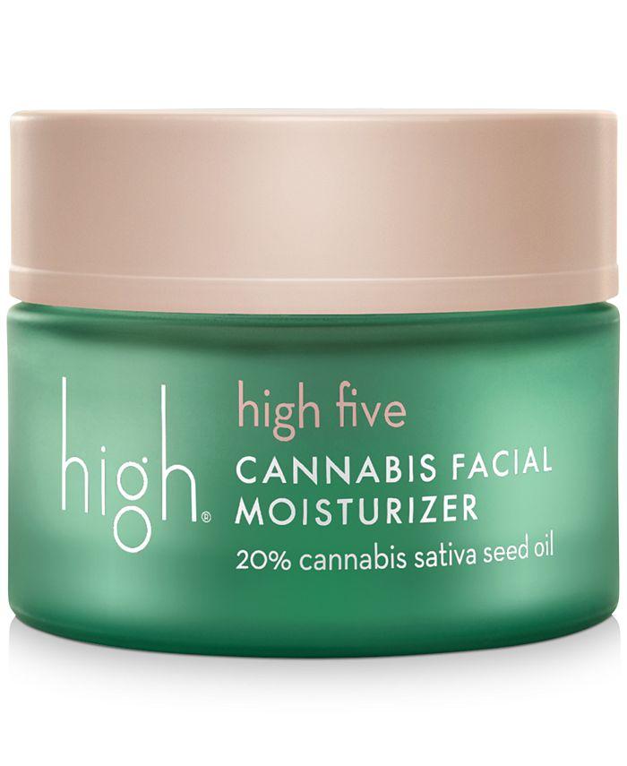High - High Five Cannabis Facial Moisturizer, 1.7-oz.