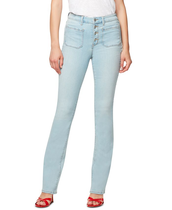Sanctuary - Demi Button-Fly Bootcut Jeans