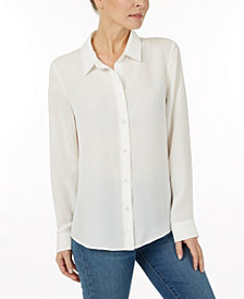 Laundry by Shelli Segal Solid blouse