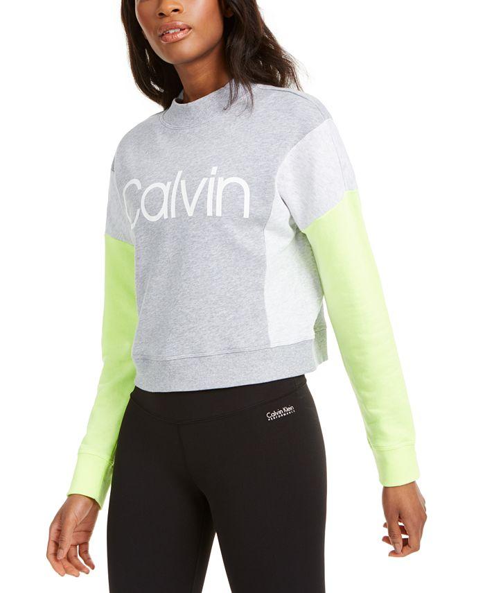 Calvin Klein - Colorblocked Fleece Sweatshirt
