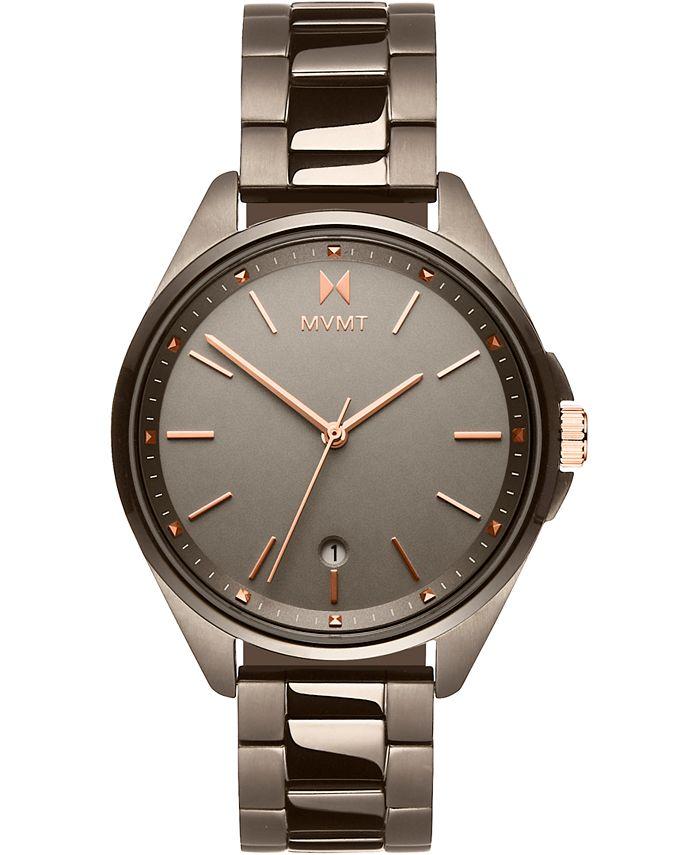 MVMT - Women's Coronada Taupe Stainless Steel Bracelet Watch 36mm