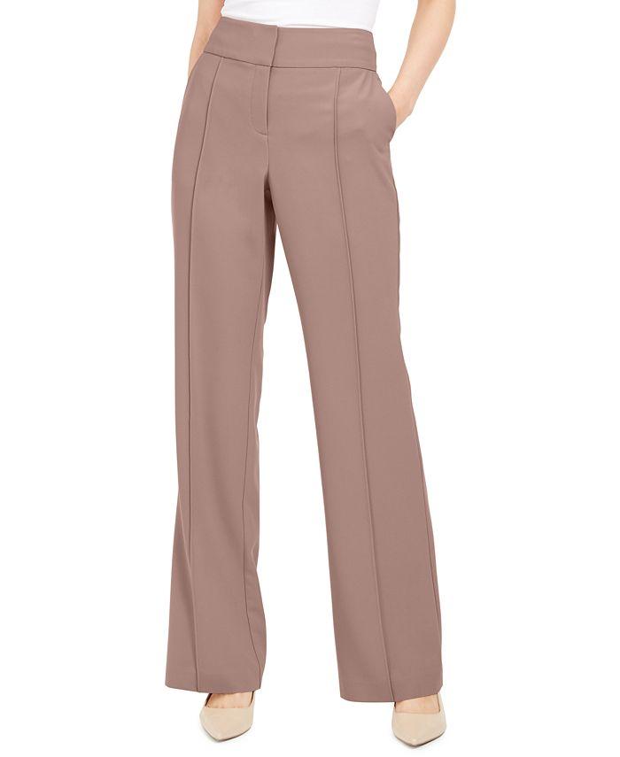 Alfani - Front-Seam Pants