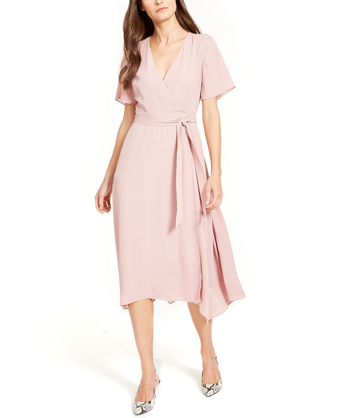 Alfani - Handkerchief-Hem Wrap Dress
