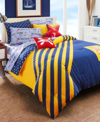 Kids Flag Stripe 2-Piece Twin Comforter Set