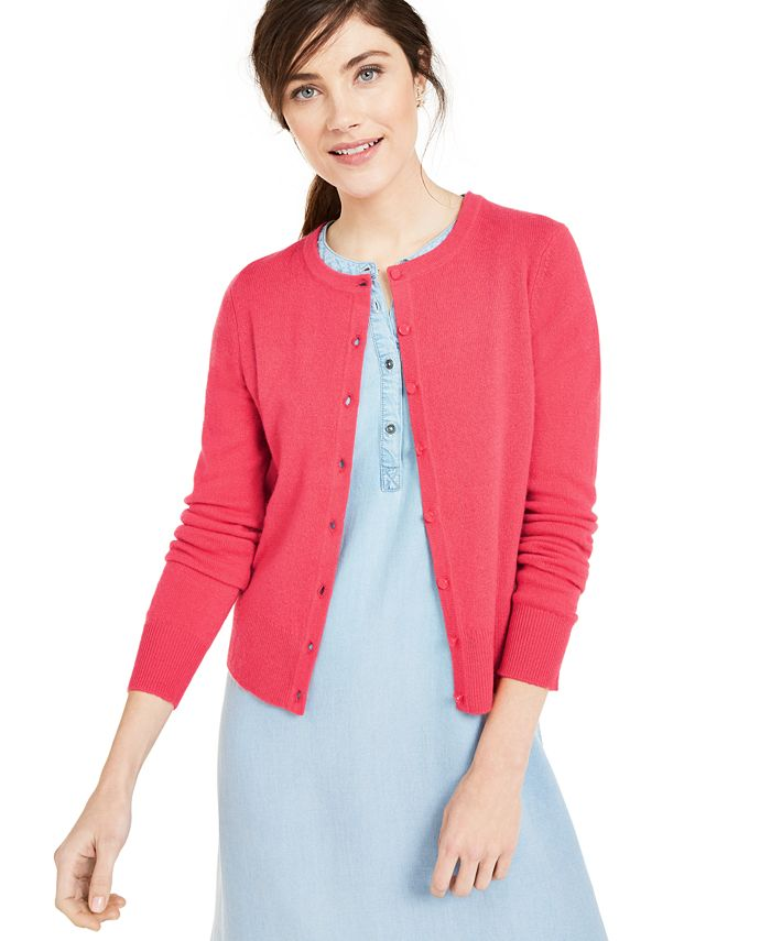Charter Club - Cashmere Essential Cardigan