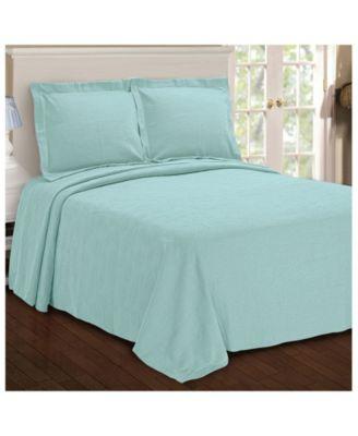 Paisley Jacquard Matelasse 2 Piece Bedspread Set, Twin