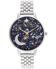 Olivia Burton Women's Celestial Stainless Steel Bracelet Watch 38mm