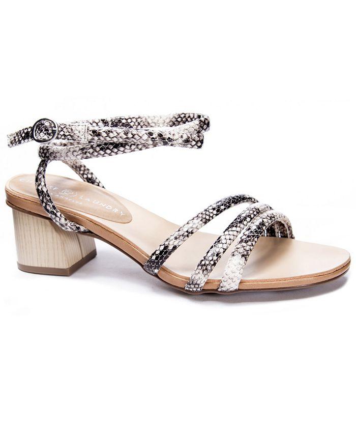 Chinese Laundry - Montezuma Block Heel Dress Sandals