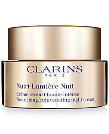 Clarins Nutri-Lumière Night Cream, 1.6-oz.