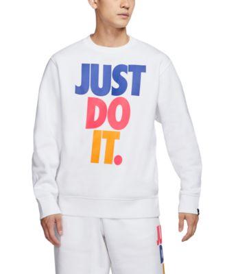 Nike Men's Just Do It Whiteout