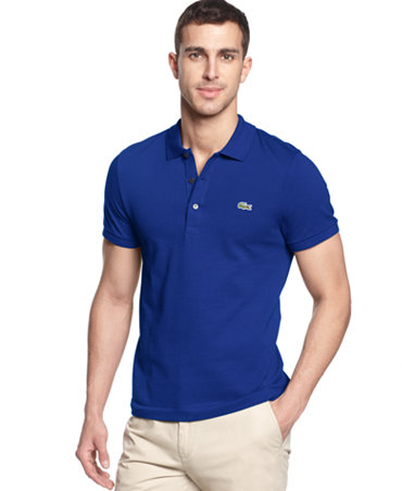 lacoste shirt slim fit polo shirt polos men macy 39 s. Black Bedroom Furniture Sets. Home Design Ideas