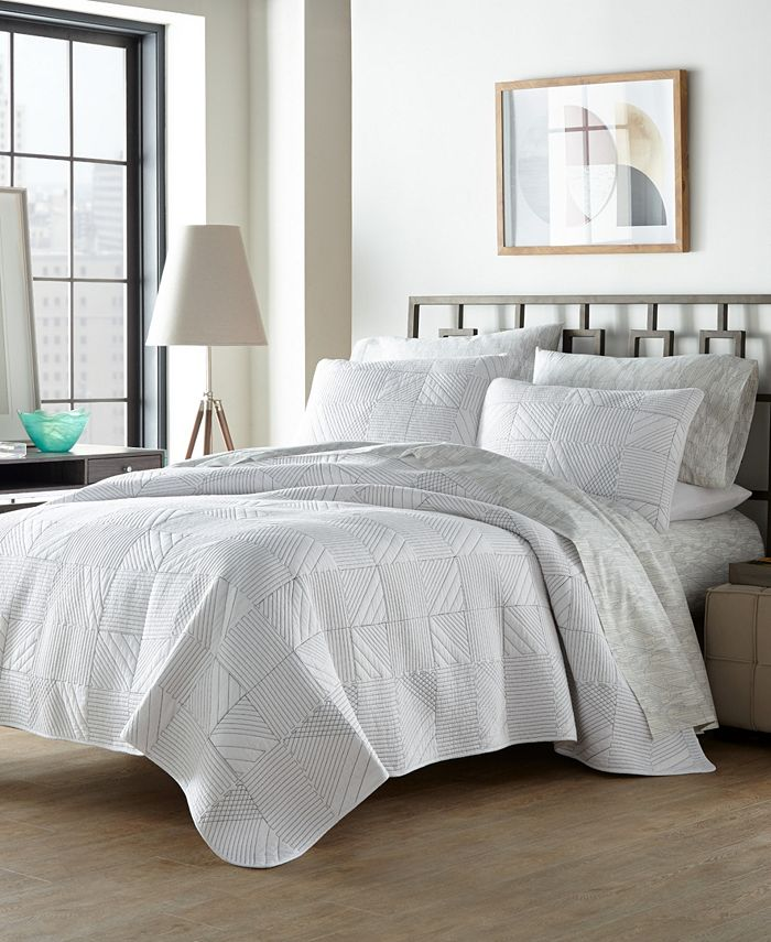 City Scene - Leo Full/Queen Quilt Set