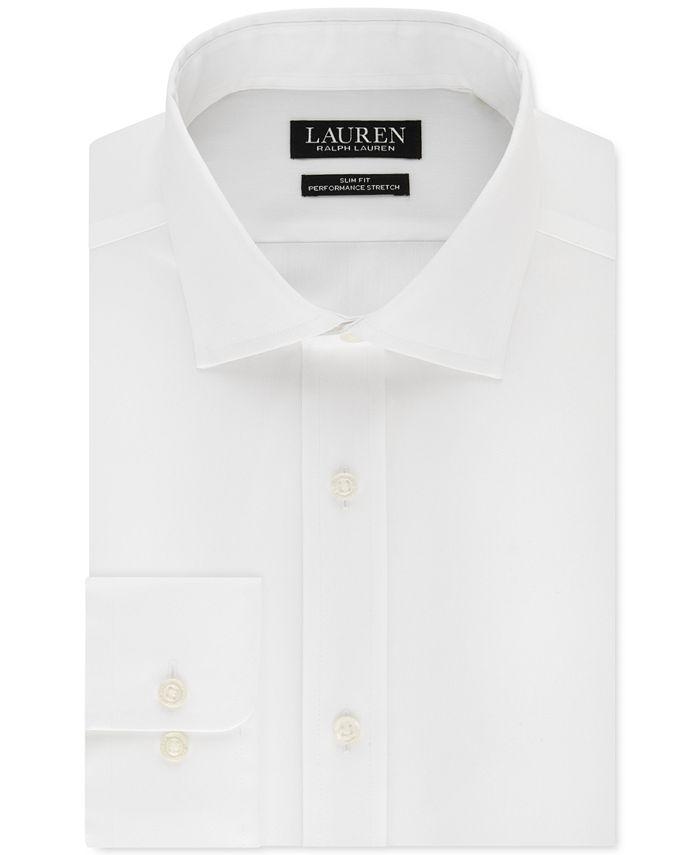 Lauren Men's Ultraflex Slim Fit Stretch Dress Shirt