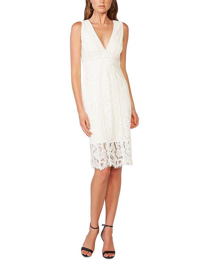 Bardot - Allover-Lace Sheath Dress