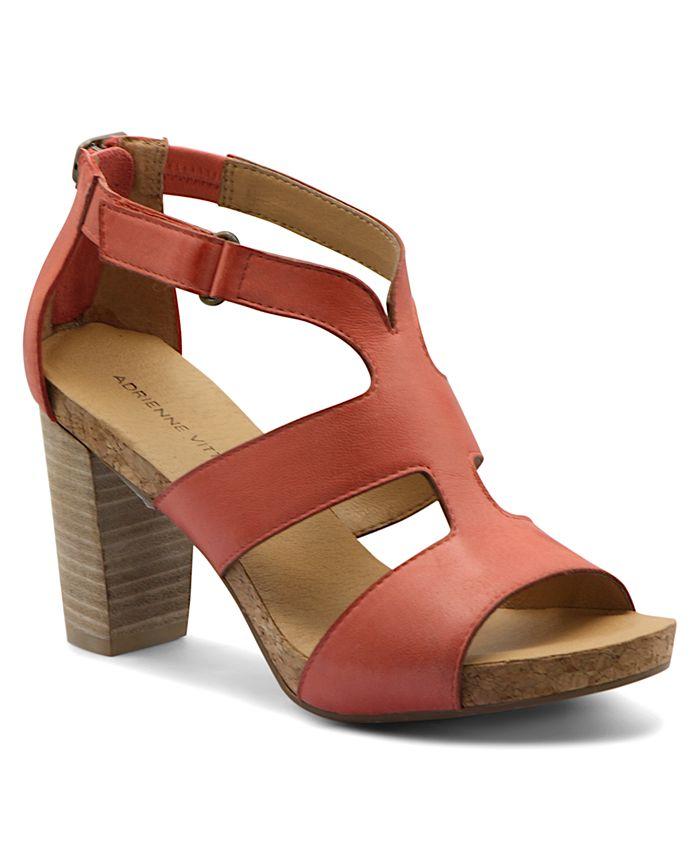 Adrienne Vittadini - Saha Strappy City Sandals