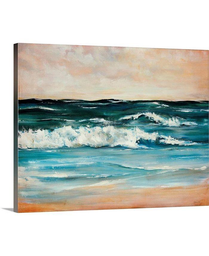"""GreatBigCanvas - 20 in. x 16 in. """"Ocean Light II"""" by  Sydney Edmunds Canvas Wall Art"""