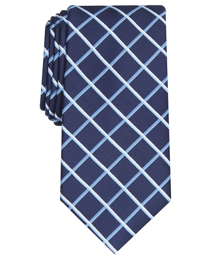 Club Room - Men's Edward Grid Tie