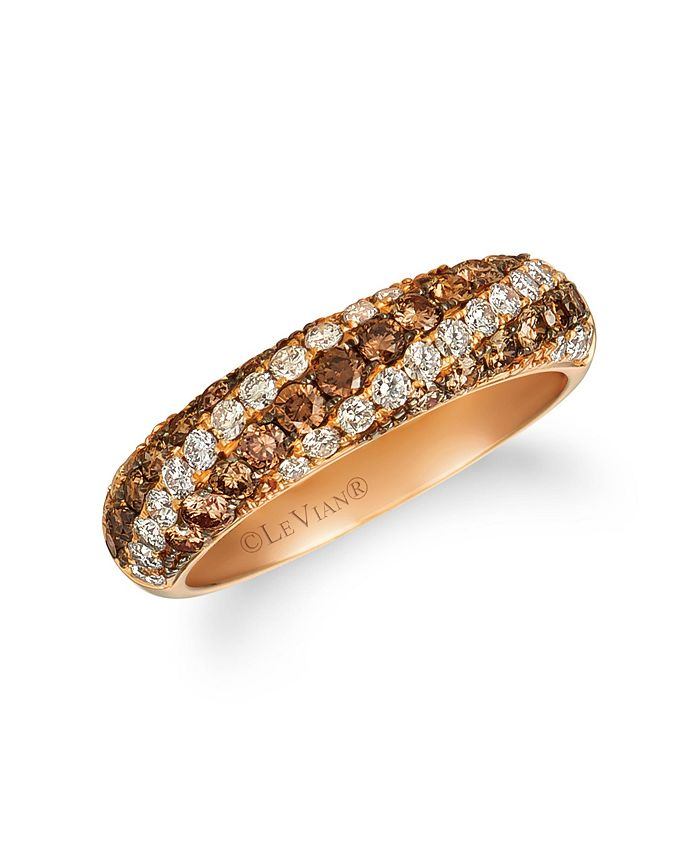 Le Vian - Chocolate Diamonds® (1/15 ct. t. w.) Ring in 14k Rose Gold