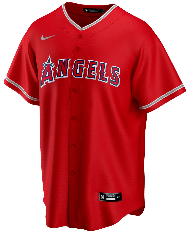 Nike Men's Los Angeles Angels Official Blank Replica Jersey & Reviews - Sports Fan Shop By Lids - Men - Macy's
