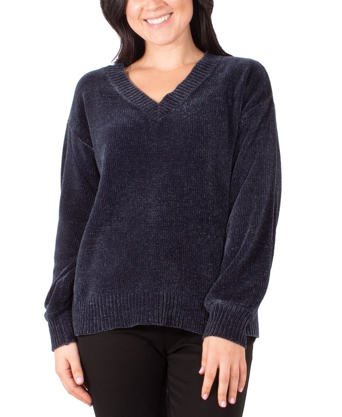 NY Collection - V-Neck Sweater