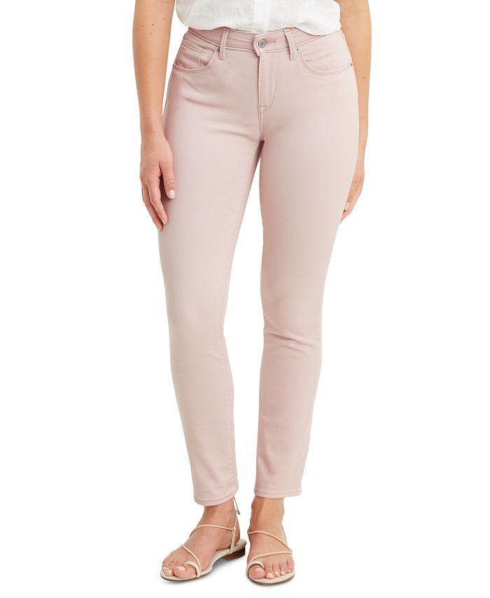 Levi's - Mid-Rise Skinny Jeans, Blue Wash